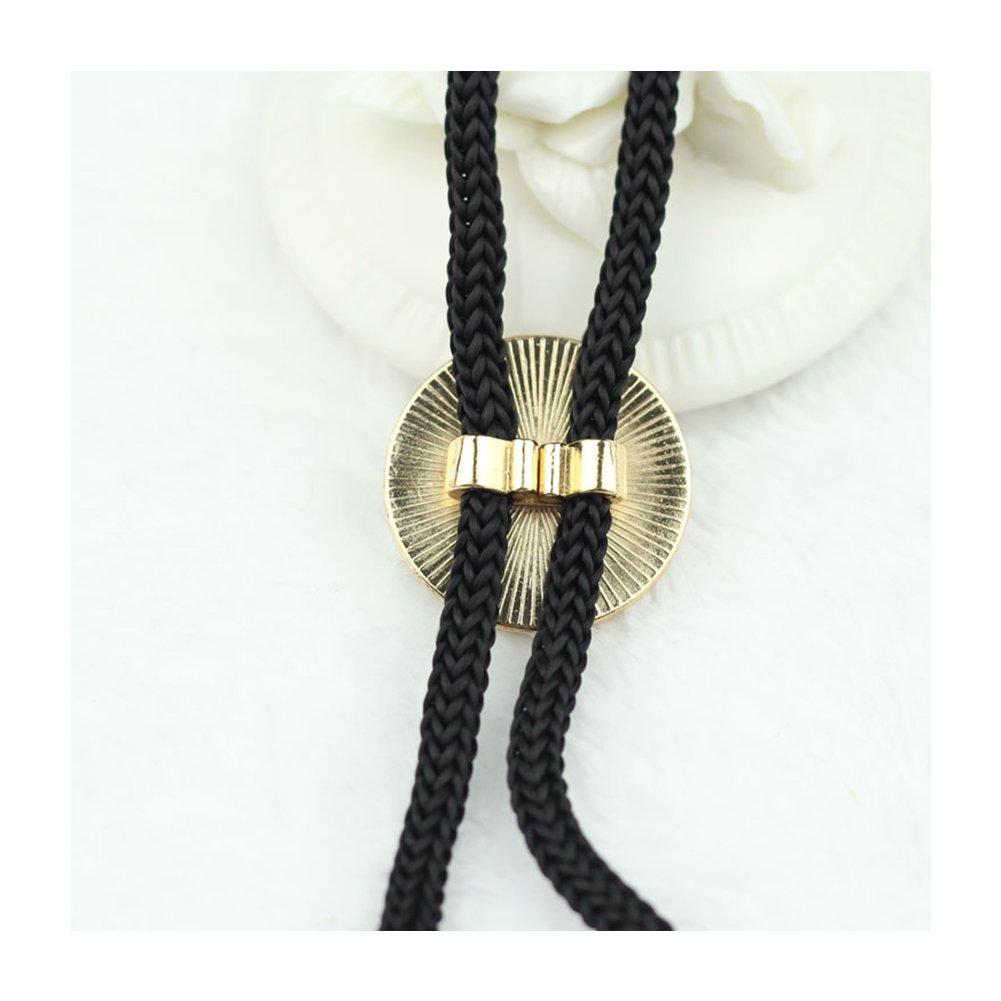 SevenAndEight S /& E Moda Totem Bolo Empate Corbata Pajarita Colgante de Metal para Hombres Camisas Accesorios