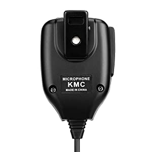 Retevis 2 Pin Shoulder Mic Speaker Mic Microphone Compatible Baofeng BF-888S UV-5R Kenwood Retevis H-777 RT21 RT22 RT5 RT-5R H-777S Arcshell AR-5 Walkie Talkie (5 Pack) (Color: black)