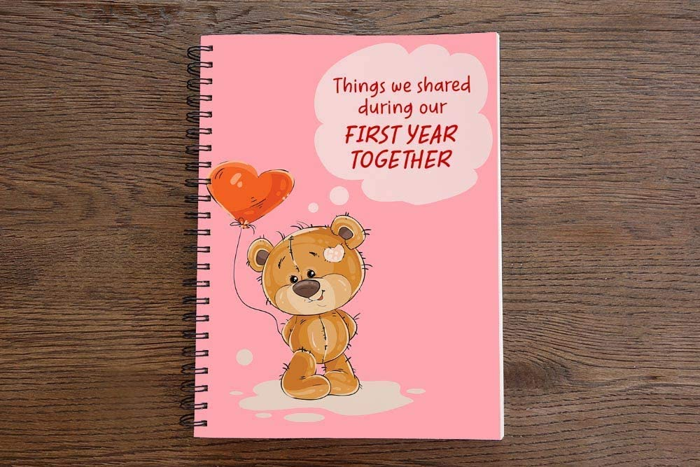 GiftBlitz A5 Spiral Wire Bound Notebook Multicolor Motivational Quote Ruled Lined 170 Pages Notepad Diary Students Gift