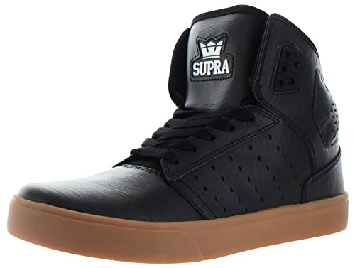 dcaab85a7350 Supra Men s Atom High-Top Suede Fashion Sneaker  Amazon.co.uk  Shoes ...