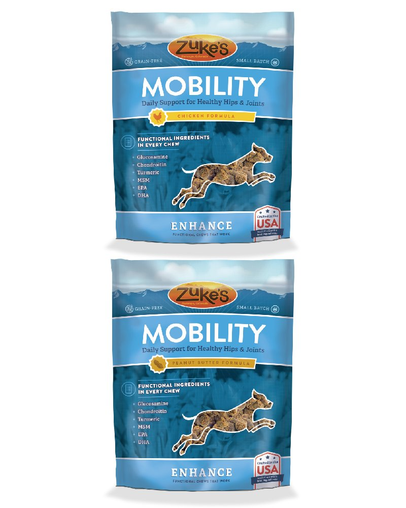 Zuke's Enhance Mobility Chicken Formula Functional Dog Chews - 5 oz. pouch by Zuke's (Image #3)