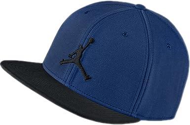 Jordan Gorra Jumpman Snapback Azul/Negro Talla: Ajustable: Amazon ...