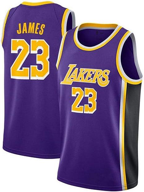 Jugador de Baloncesto Jersey, Lebron James # 23, Los Angeles ...