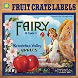 Fruit Crate Labels 2016 Wall Calendar