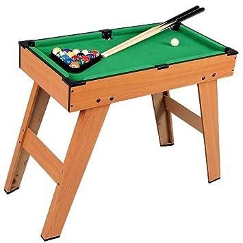 Kids Mini Pool Snooker Billiard Table Indoor Gaming Fun Play Sport Toy  Childrens