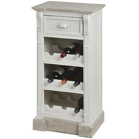 Hill Interior New England Wine Cabinet Storage Crate Holder Vintage