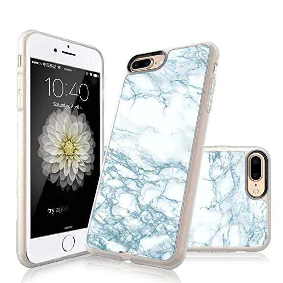 iphone 8 plus marble case shockproof