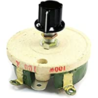 Semoic 100W 100 Ohm Reostato resistencia rotatoria potenciometro