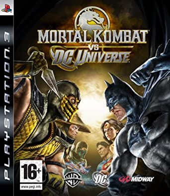 Image result for mortal kombat vs dc universe ps3