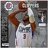 Turner Licensing Sport 2017 Los Angeles Clippers Team Wall Calendar, 12''X12'' (17998011881)