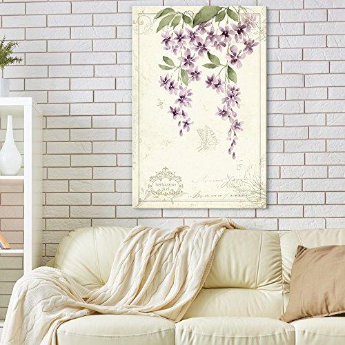 Vintage Style Purple Flowers Gallery