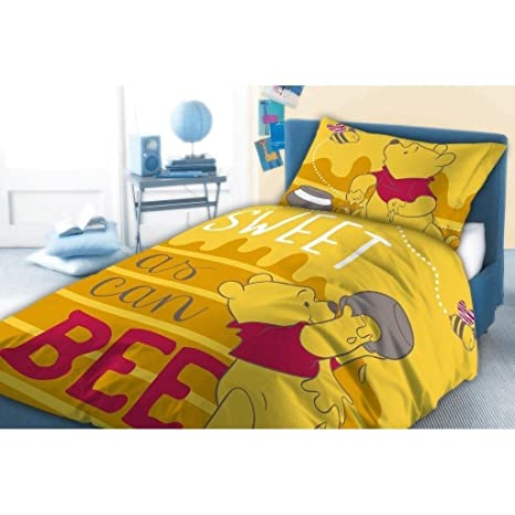Copripiumino Singolo Winnie The Pooh.Copripiumino Di Pile Disney Winnie The Pooh 160 X 200 Amazon It