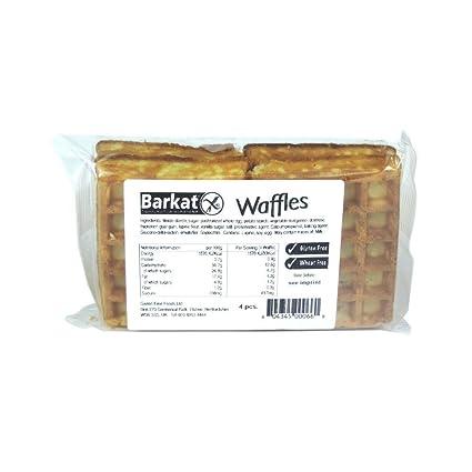 Gofres sin gluten de Barkat, 3.53 oz: Amazon.com: Grocery ...