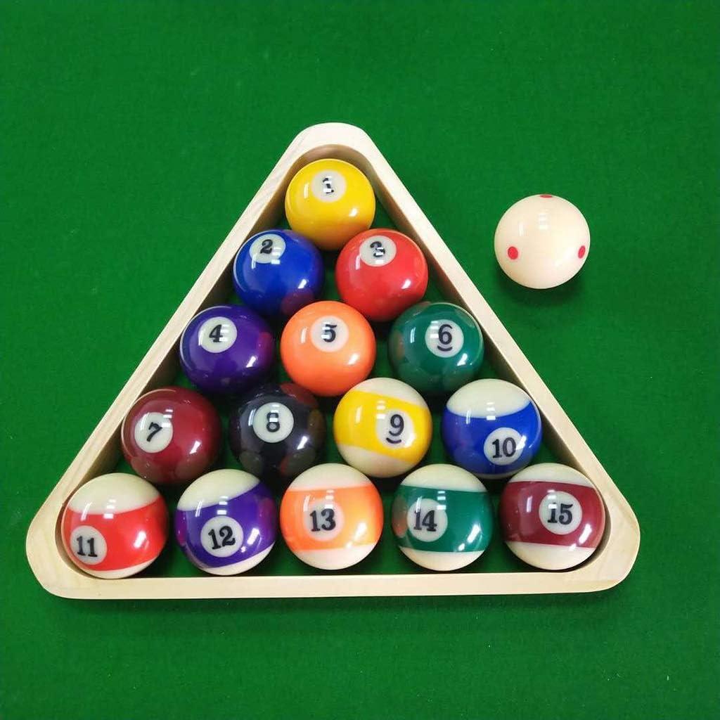 WXS Mesa Billar Triangle Ball Rack Triángulo Madera Accesorios ...