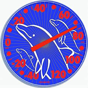 Poolmaster Dolphin Outdoor Wall Thermometer