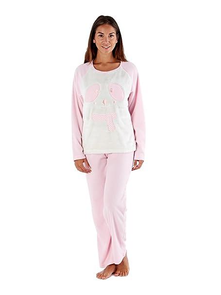 Selena Secrets - Pijama - para Mujer Baby Pink Panda S