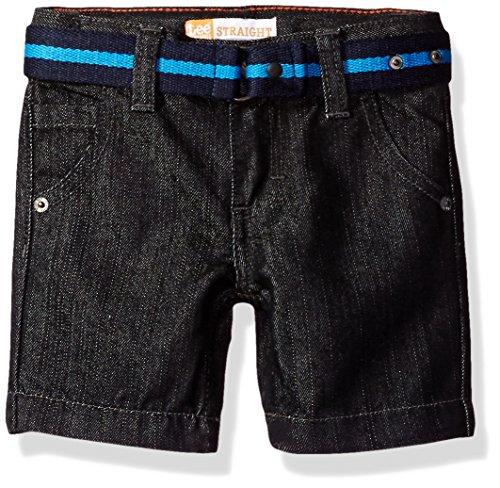 ted Denim Short, Black, 2T (Boys Black Belted Jean Shorts)