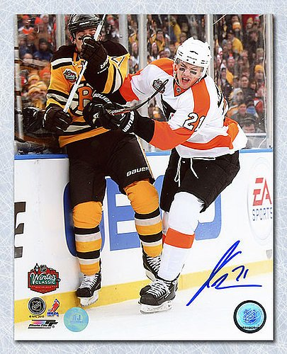 Image Unavailable. Image not available for. Color  James van Riemsdyk  Philadelphia Flyers Autographed 10 Winter Classic ... 0d377dea1