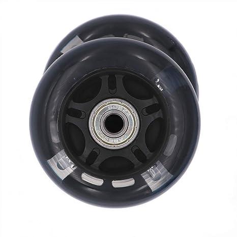 AOWISH Ruedas de Repuesto para Patinaje en Línea DE 76 mm, con rodamientos ABEC-