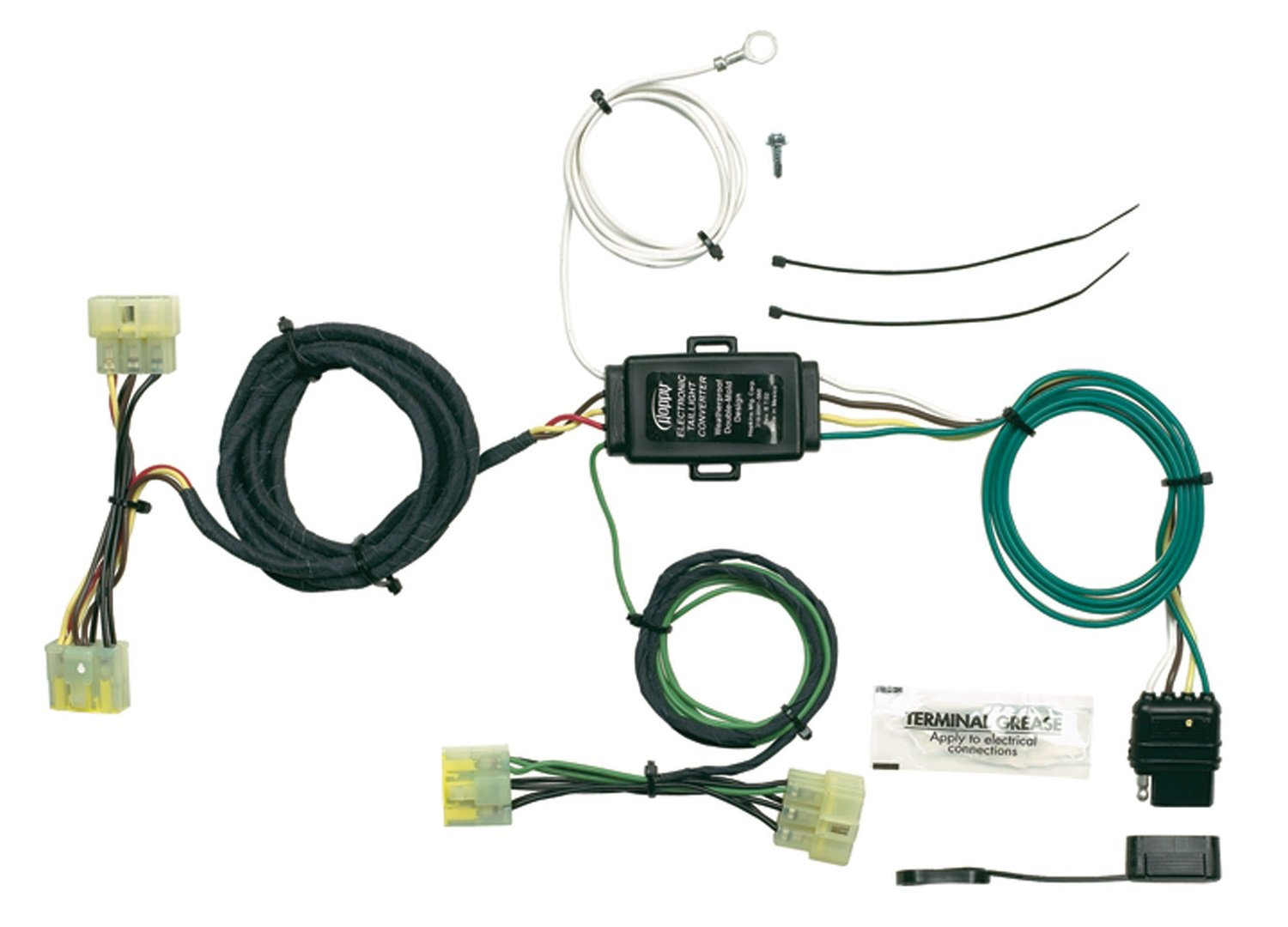 Hopkins 43315 Plug In Simple Vehicle Wiring Kit Automotive Addition Trailer Harness Adapter On Car