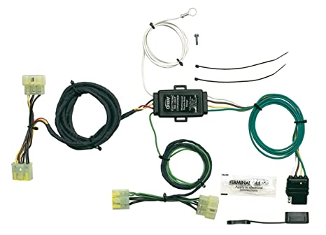 amazon com hopkins 43315 plug in simple vehicle wiring kit automotive rh amazon com Six Pin Trailer Wiring Diagram 5 Pin Trailer Wiring Harness