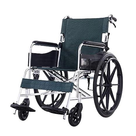 Teng Peng Silla de Ruedas de Transporte, sillón de Aluminio ...