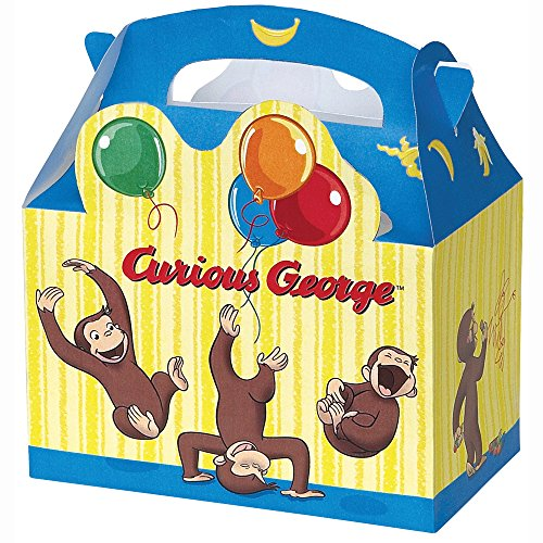 [Curious George Favor Boxes, 4ct] (Cute Easy Group Costumes Ideas)