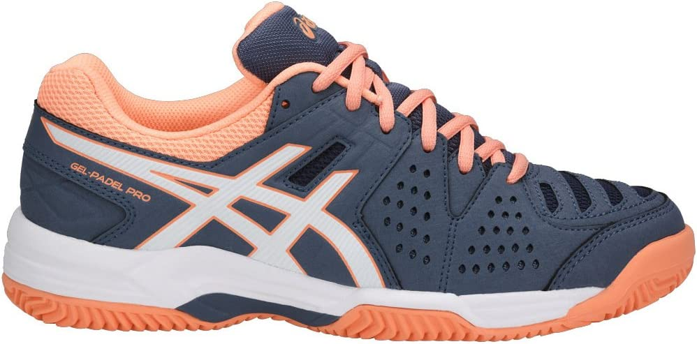 Asics Gel-Padel Pro 3 SG Smoke Blue/White/Canteloupe 42: Amazon.es ...