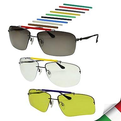 14401d0a070 Image Unavailable. Image not available for. Color  Bnus Men s Outdoor Sport  Casual DIY Sunglasses Titanium ...