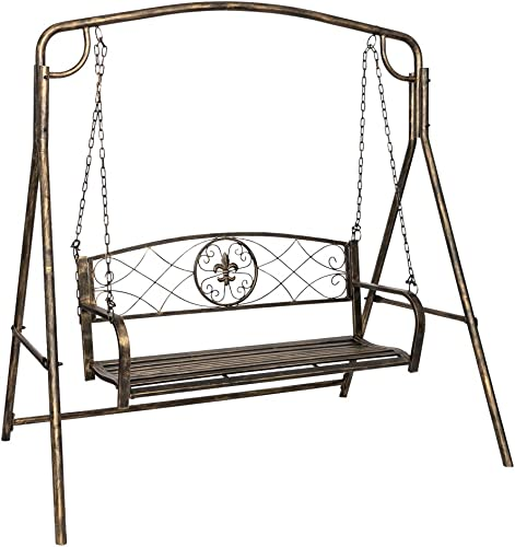 Outdoor Hanging Porch Swing Bench