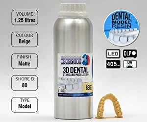 Monocure 3D Rapid Dental Model Beige 1,25 L: Amazon.es: Informática