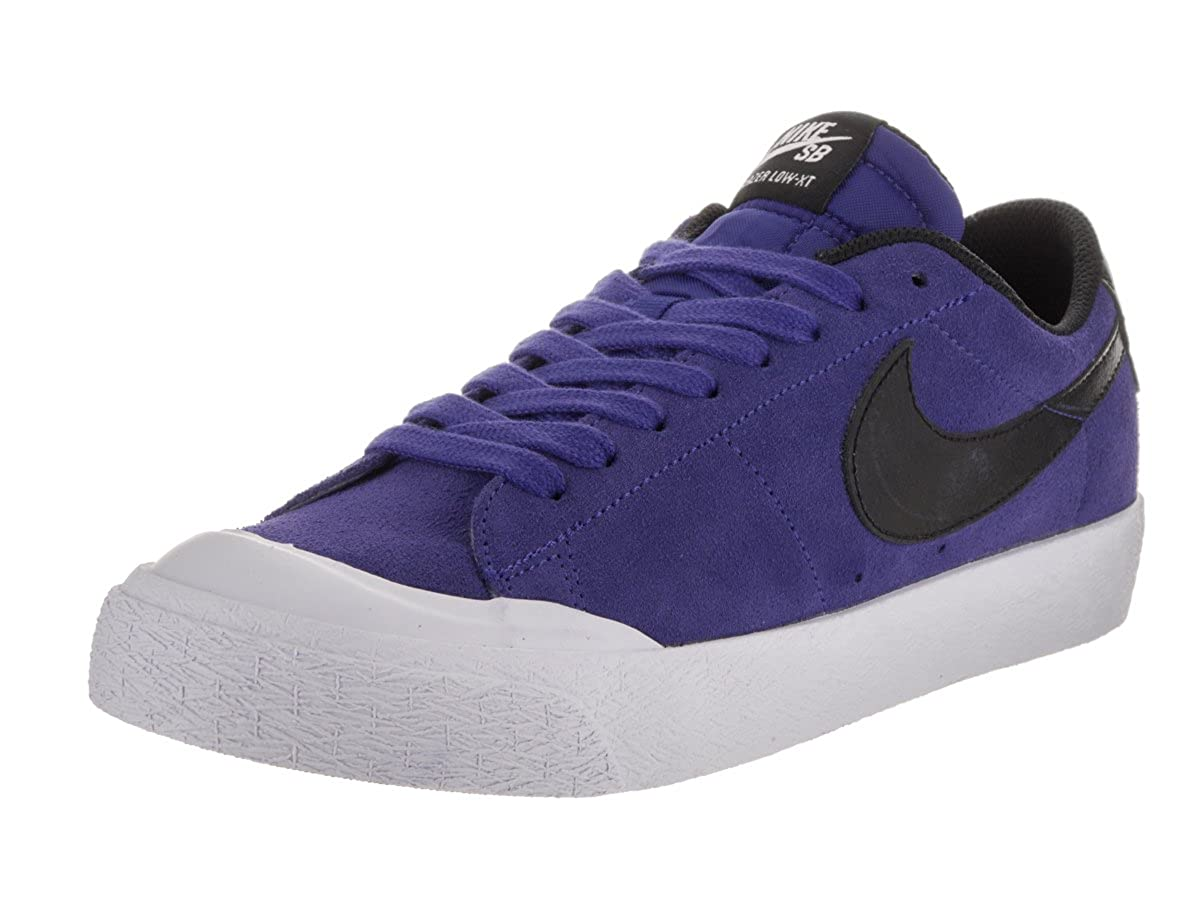 Buy Nike Men S Sb Blazer Zoom Low Xt Deep Night Black White Skate Shoe 8 Men Us At Amazon In