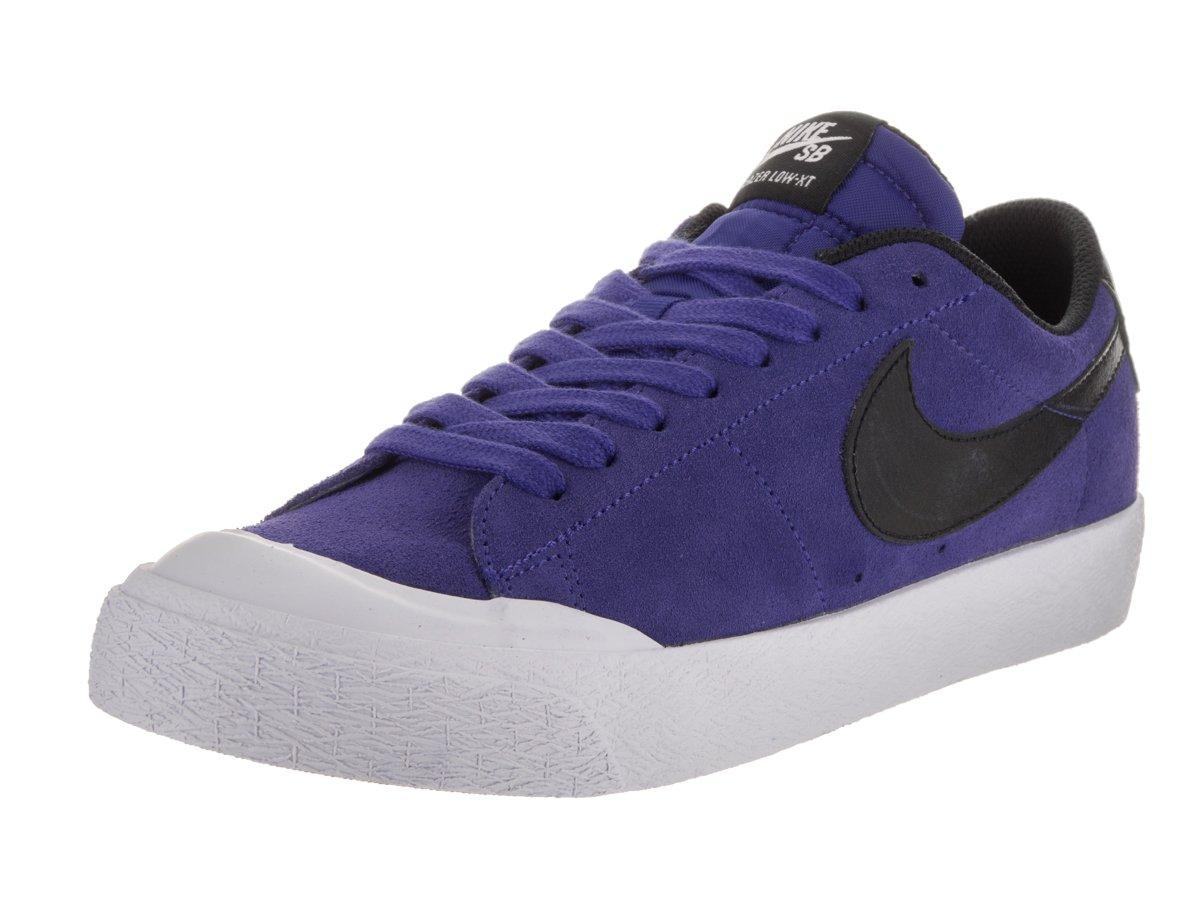 Nike Men's SB Blazer Zoom Low XT Deep Night/Black White Skate Shoe 8.5 Men US