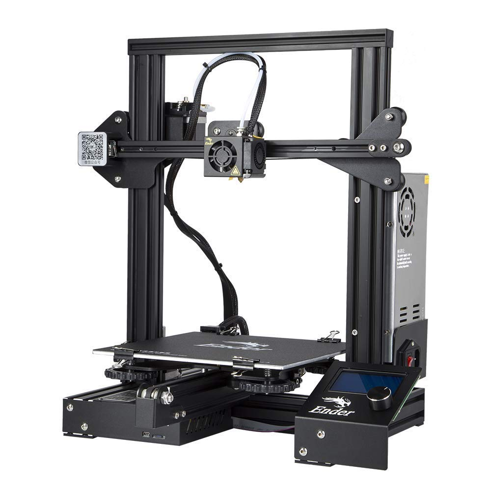 Official Creality Ender 3 3D Printer Fully Open Source with Resume Printing Function DIY 3D Printers Printing Size 220x220x250mm