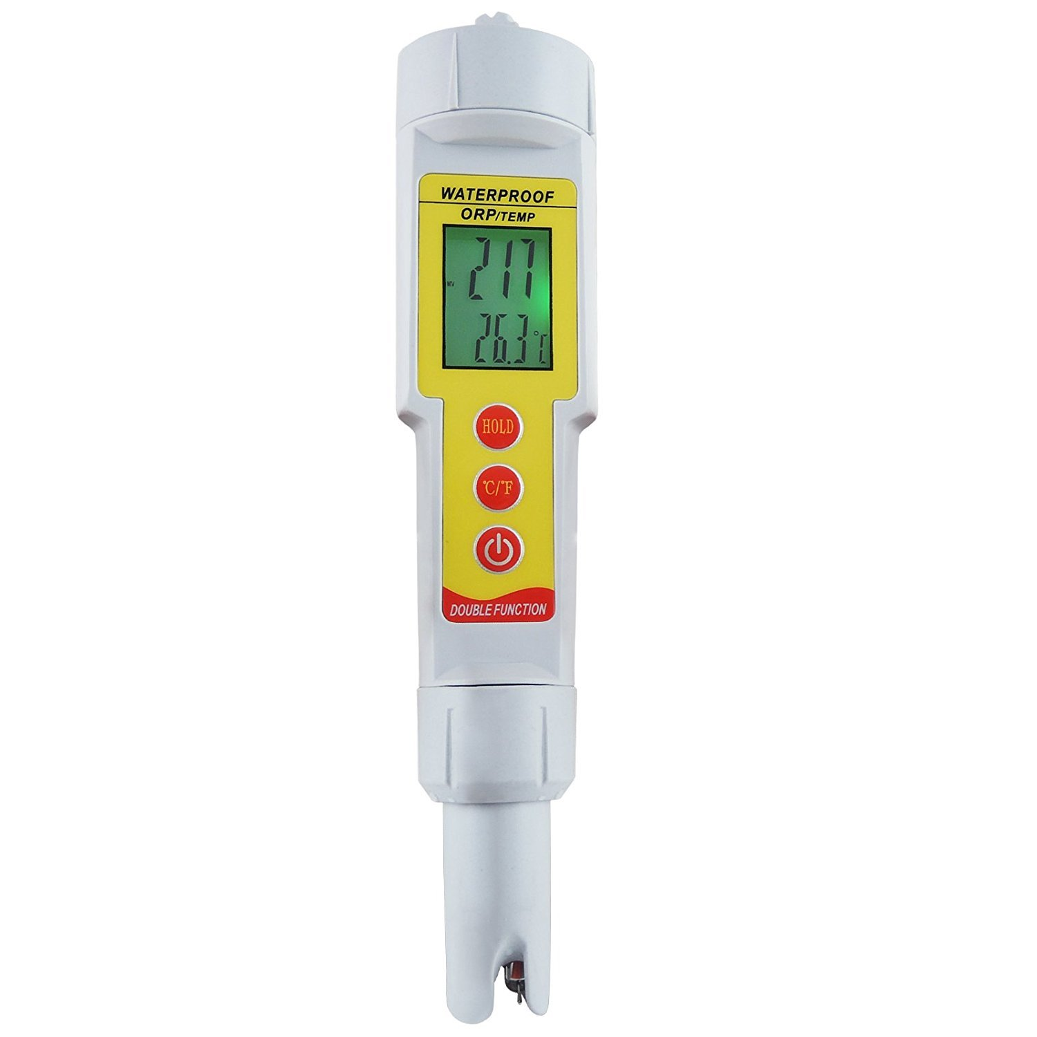 Gain Express 2-in-1 Pen Type ORP & Temperature (°C/ °F) Meter Thermometer Water Quality Tester IP65 Waterproof Level by Gain Express