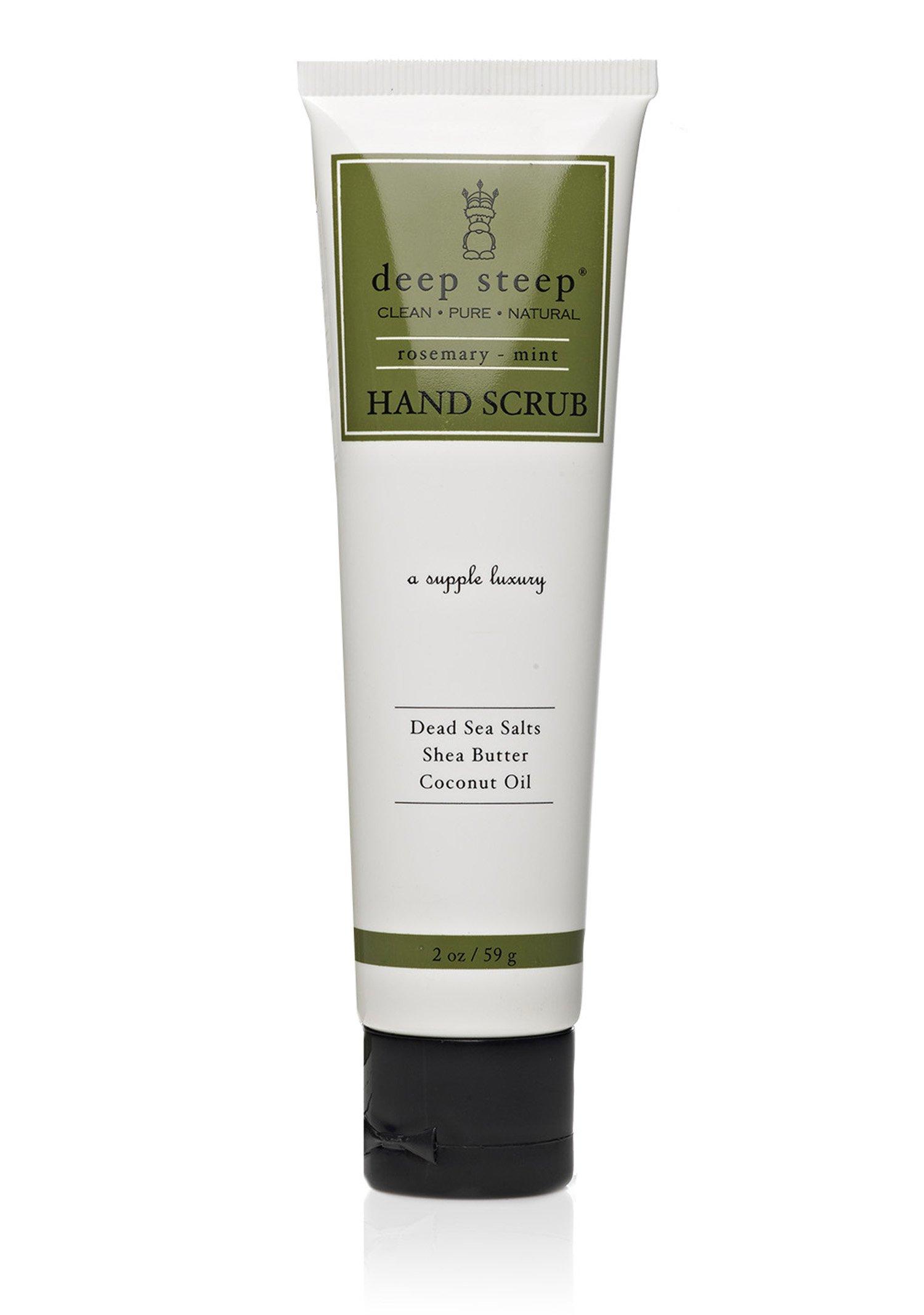 Deep Steep Hand Scrub, Rosemary Mint, 2 Ounce