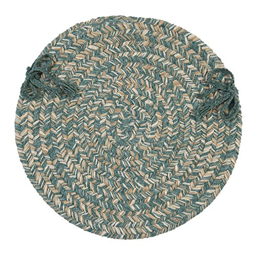 teal chair pad - 4