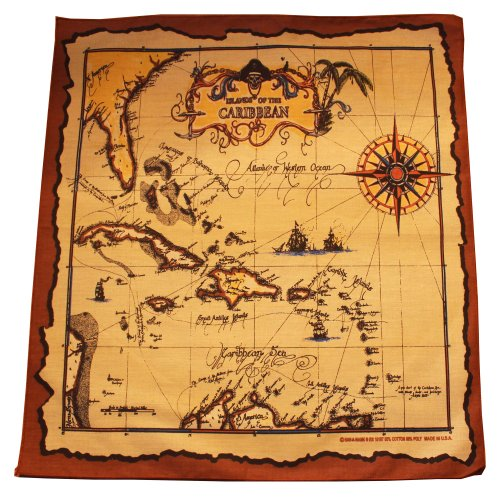 Caribbean Pirates Bandana
