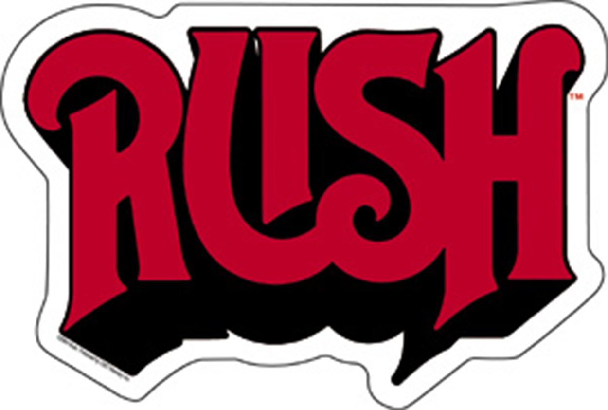 Amazon com licenses products rush logo sticker toys games
