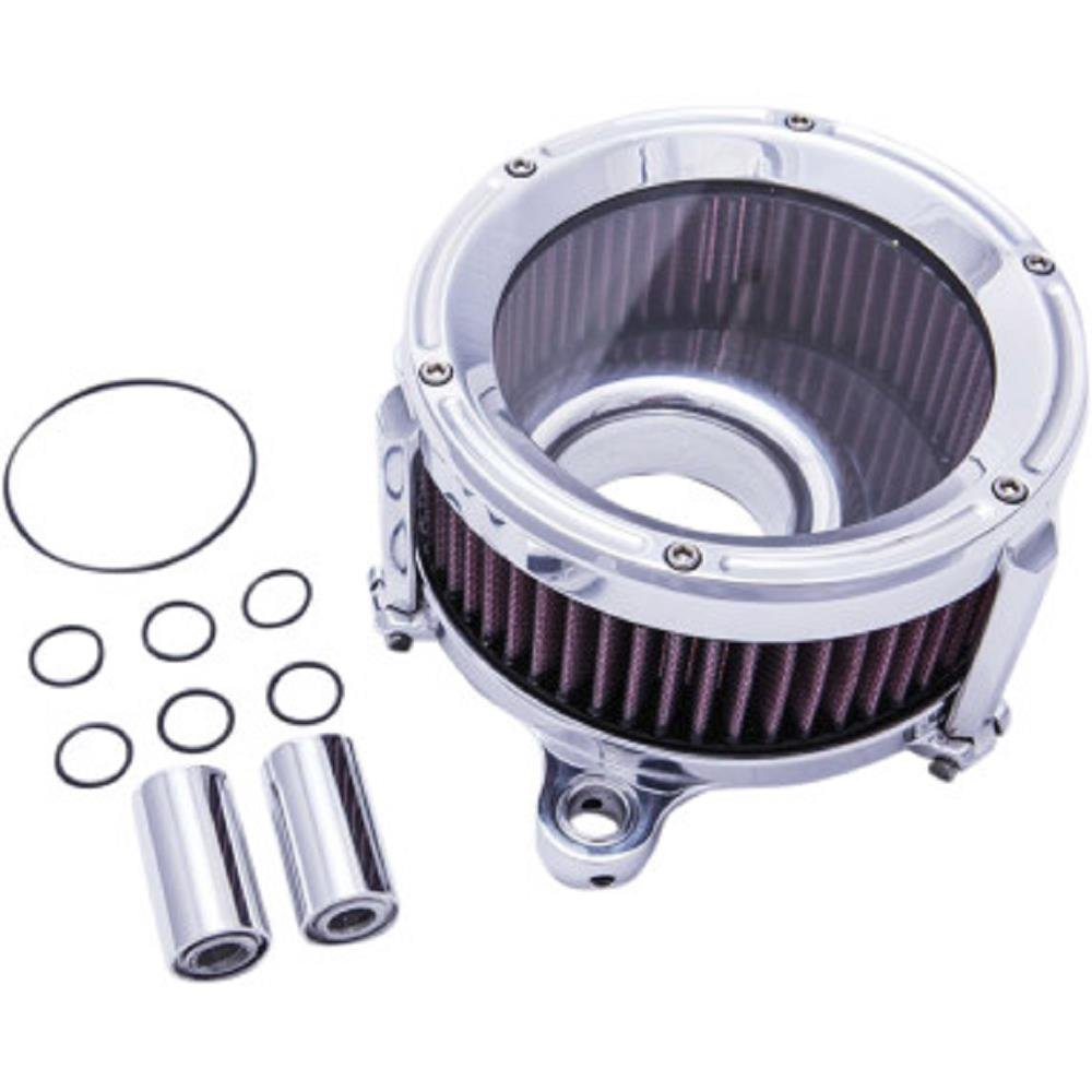 Trask Performance Assault Charge High-Flow Air Cleaner - Chrome TM1020R