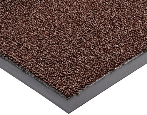 Notrax Non-Absorbent Fiber 231 Prelude Entrance Mat, for Outdoor and Heavy Traffic Areas, 4' Width x 6' Length x 1/4
