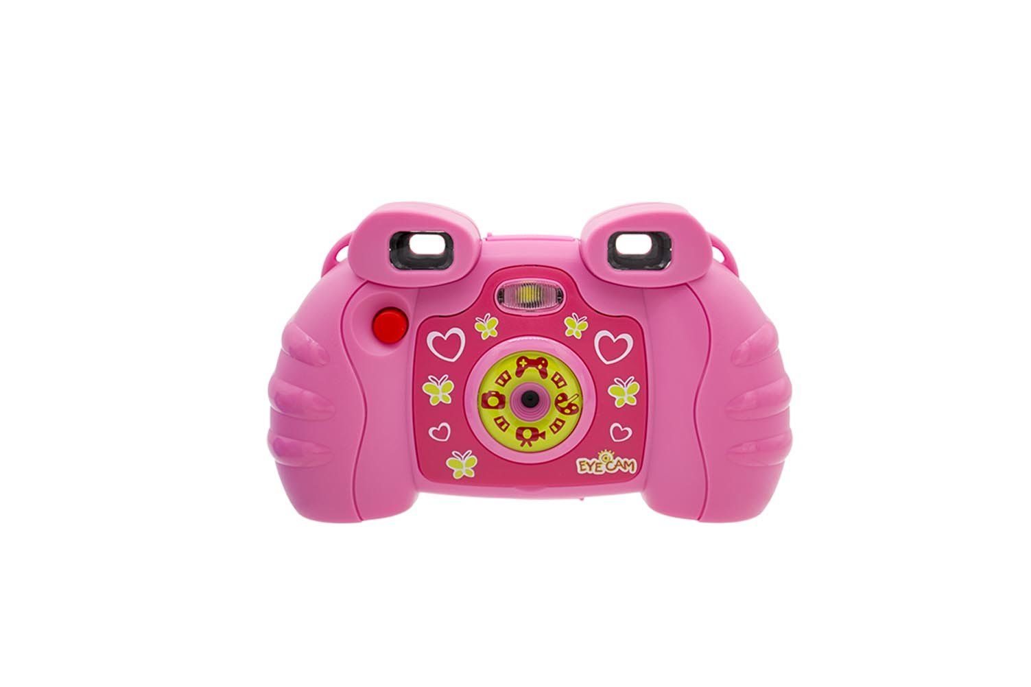 iCore Kids Digital Camera, Chidrens Tech Cameras Discovery Toys Girls , Toddler Video Camera 5-in-1 Funny Toy Games - pink