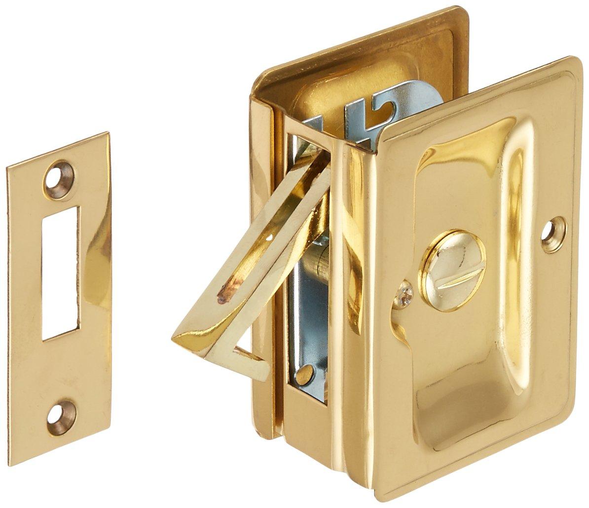 Deltana SDLA325U3 Adjustable 3 1/4-Inch x 2 1/4-Inch Privacy HD Pocket Locks