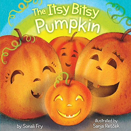The Itsy Bitsy Pumpkin (Halloween Rhymes For Kindergarten)
