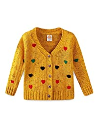 Mud Kingdom Girls Cardigan Sweaters Cute Colorful Love