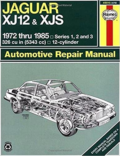 Jaguar XJ12, XJS and Daimler Sovereign Double Six Owner's Workshop Manual (Owners workshop manuals)