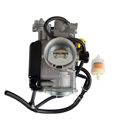 High Efficiency Metal Carburetor carb Fit for Honda TRX400 1999-2015 ATV,Sportrax TRX400 TRX400EX,TRX400 FourTrax,Replace Part Number 16100-HN1-A43: Automotive
