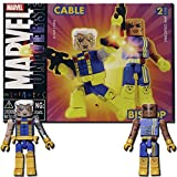 Marvel Minimates Series 10:  Bishop & Cable