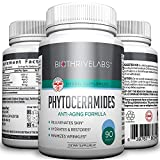 Premium Phytoceramides Supplement - Best Capsules for Perfect Skin, Hair and Nails: Make Skin Softer, Remove Wrinkles and Dryness and Eliminate Sagging Skin - Great for Face Lift. Order Risk Free!