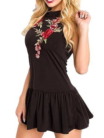 Kleid hochgeschlossen ruckenfrei
